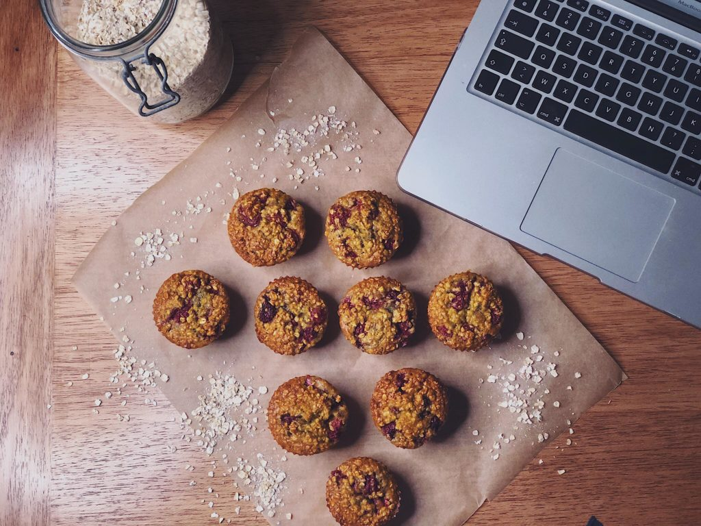 Marion LASSAGNE - muffins aux fruits rouges