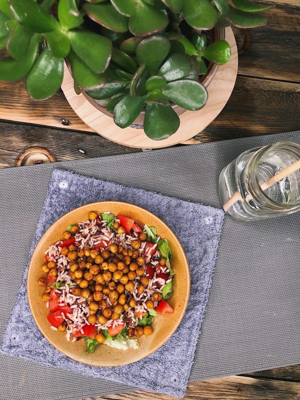 salade végétarienne express - marion lassagne - diététicienne